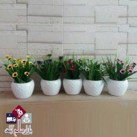 فروش عمده گلدان سرامیکی گل مینا