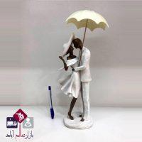 فروش عمده مجسمه پلی استر عروس و داماد