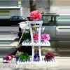 فروش عمده نگهدارنده گلدان ۳ طبقه هلالی