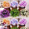 فروش عمده گلدان شمشاد ابلق رنگی