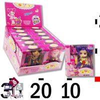 فروش عمده عروسک ۱۲ عددی کوچک