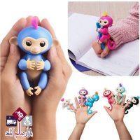 فروش عمده عروسک بچه میمون انگشتی