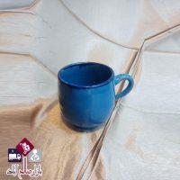 فروش عمده لیوان سفالی فیروزه ای