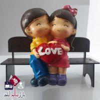 فروش عمده مجسمه دختر و پسر طرح لاو