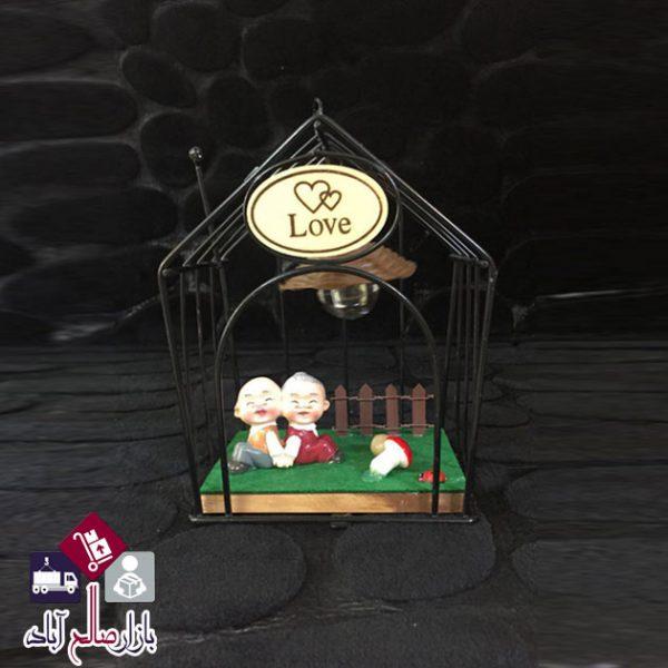 فروش عمده مجسمه پیرمرد و پیرزن طرح لاو