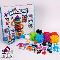 فروش عمده اسباب بازیBunchems ۴۰۰ عددی