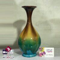 فروش عمده گلدان سفالی طرح شیپوری