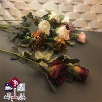 فروش عمده شاخه گل رز مصنوعی
