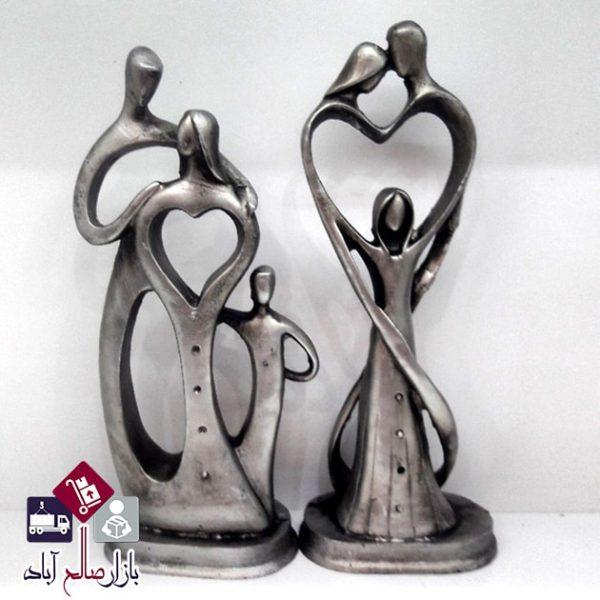 فروش عمده مجسمه پلی استر مدل عشق