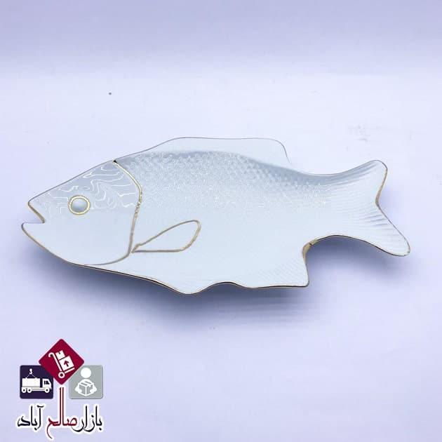 فروش عمده سینی پذیرایی سرامیک طرح ماهی