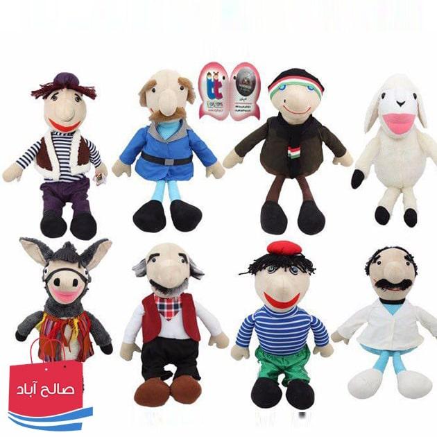 فروش عمده عروسک های مجموعه کلاه قرمزی