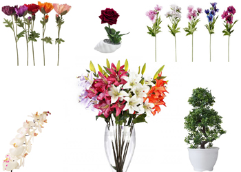 فروش عمده انواع گل مصنوعی