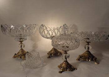 فروش عمده انواع ظروف کریستال