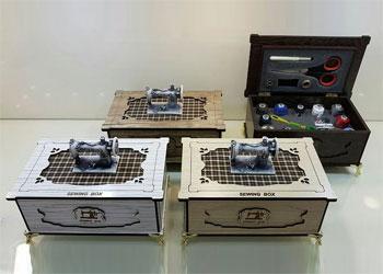 فروش عمده انواع جعبه لوازم خیاطی