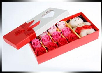 فروش عمده انواع گل صابونی