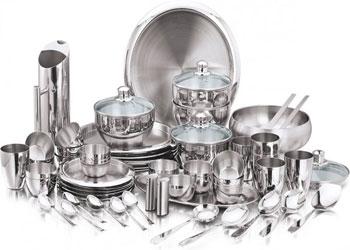 فروش عمده انواع ظروف استیل