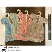 فروش عمده حوله کوچک طرح لباس کودک