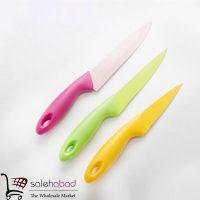 فروش عمده ست چاقو سرامیکی رنگی
