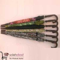 فروش عمده چتر های پارچه ای طرح عصا