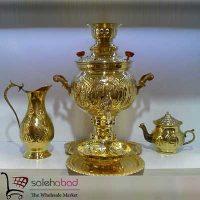 فروش عمده سرویس سماور شش لیتری ایرانی