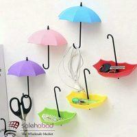 فروش عمده آویز چسبی دیواری طرح چتر
