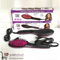 فروش عمده برس fast hair straightener حرارتی