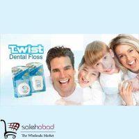 فروش عمده نخ دندان Twist تلما