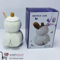 فروش عمده ظرف عسل خوری سرامیک مدل زنبور