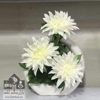 فروش عمده گلدان انگشتری گل ستاره سفید