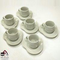 فروش عمده فنجان نعلبکی قهوه خوری قلبی