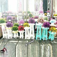 فروش عمده ست پایه گلدان مدل چهارپایه