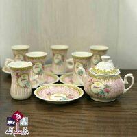 فروش عمده سرویس چای خوری طرح آنجل