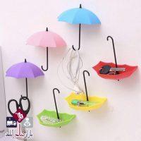 فروش عمده آویز دیواری چسبی طرح چتر
