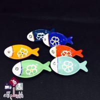 فروش عمده ست پیاله های رنگی طرح ماهی