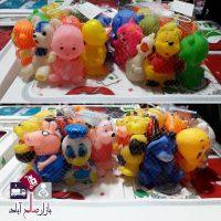 فروش عمده عروسک های سوتی طرح حیوانات