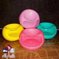 فروش عمده ظرف تخمه و آجیل رنگی