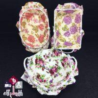فروش عمده سبد نان پارچه ای طرح گلدار