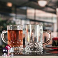 فروش عمده استکان چای خوری شیشه ای