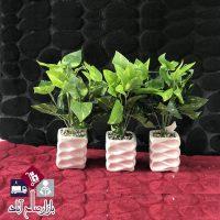 فروش عمده گلدان زینتی گل مصنوعی