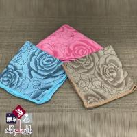 فروش عمده دستمال سه عددی گلدار