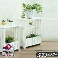 فروش عمده پایه گلدان دکوری باغچه دار