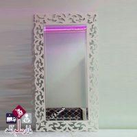 فروش عمده آینه مستطیل دیواری طرح خفاشی