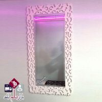 فروش عمده آینه قدی دیواری طرح پلنگی