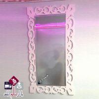 فروش عمده آینه تزئینی دیواری طرح سمن