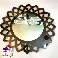 فروش عمده آینه دیواری مدل خورشید