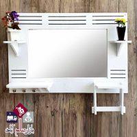 فروش عمده آینه سرویس بهداشتی سفید