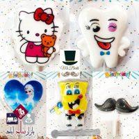 فروش عمده شمع شخصیتی جشن تولد