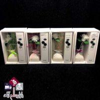 فروش عمده بوگیر عطری طرح گل و گلدان