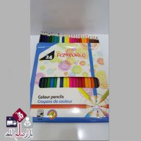 فروش عمده مداد رنگی ۲۴ رنگ Pen World