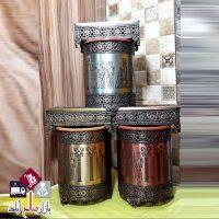 فروش عمده جا دستمالی و سطل زباله فلزی